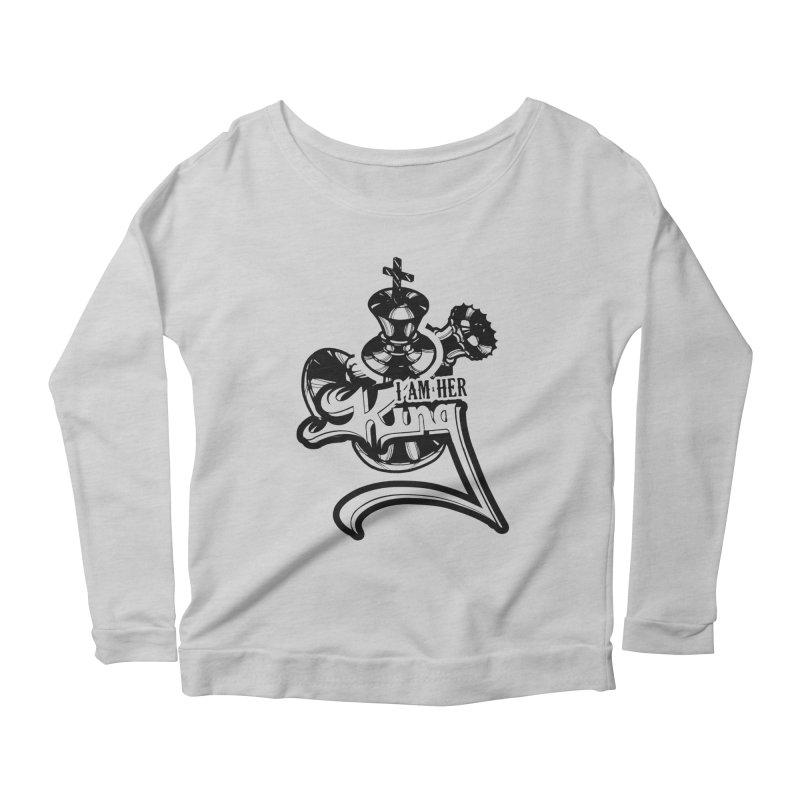 81521d37 Chess - I Am Her King Chess T shirt Women's Longsleeve Scoopneck by  hottrendtee's Artist Shop