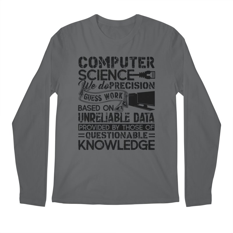 Hottrendtee Proud Computer Science Shirt Mens Longsleeve T Shirt