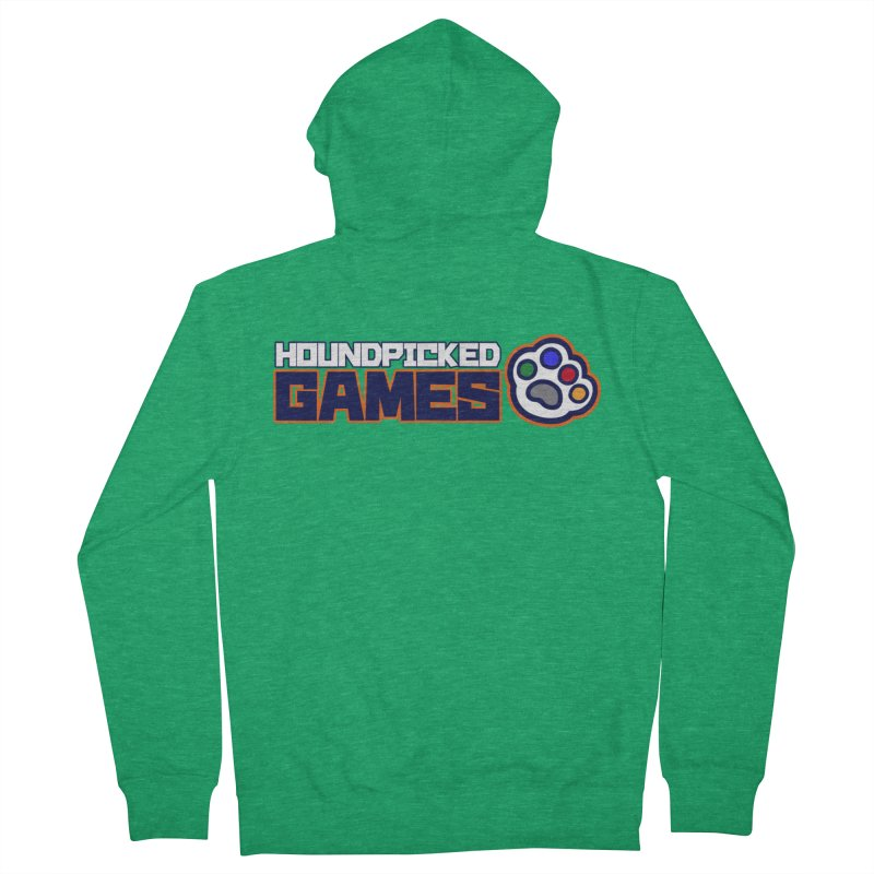 Hound Picked Games Logo (Text Only) Women's Zip-Up Hoody by Hound Picked Games
