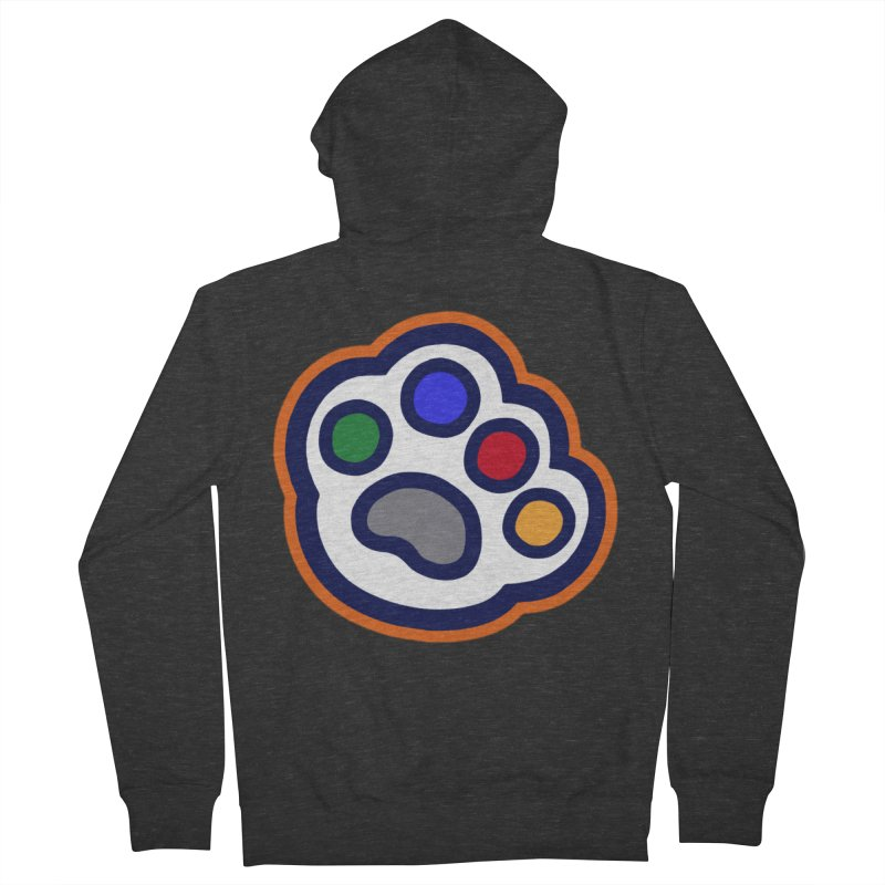The Hound Picked Paw of Approval Women's Zip-Up Hoody by Hound Picked Games