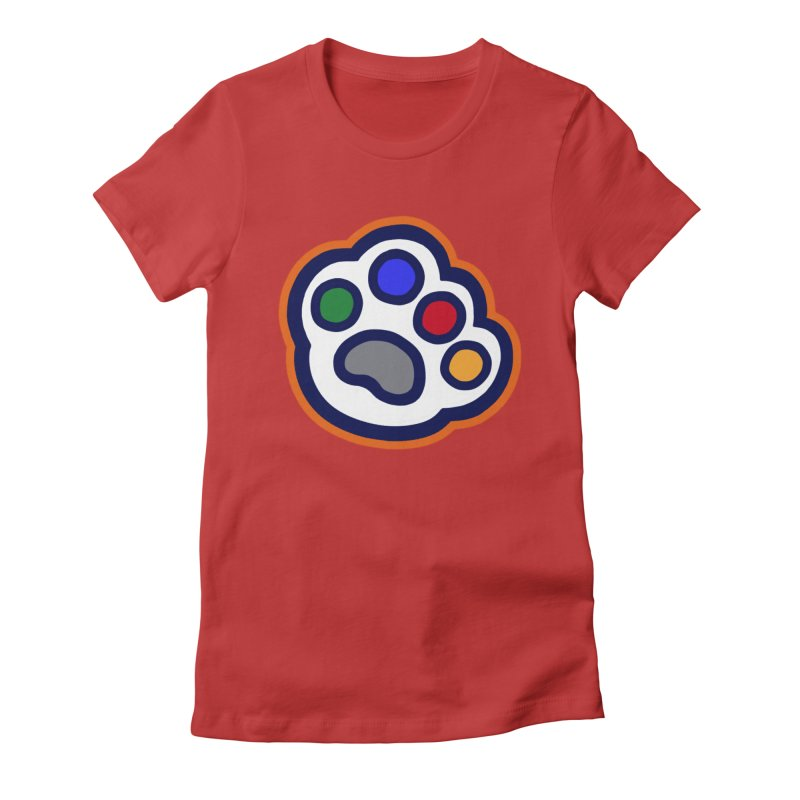 The Hound Picked Paw of Approval Women's T-Shirt by Hound Picked Games