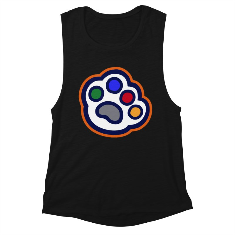 The Hound Picked Paw of Approval Women's Tank by Hound Picked Games