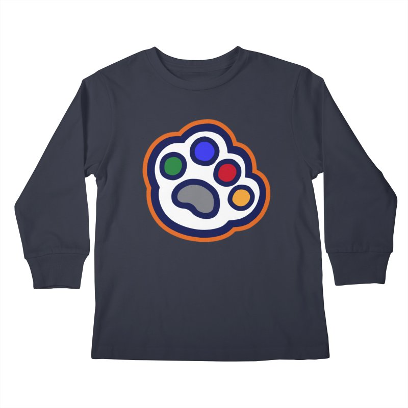The Hound Picked Paw of Approval Kids Longsleeve T-Shirt by Hound Picked Games