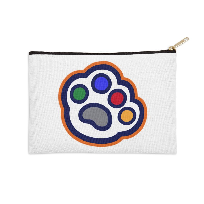 The Hound Picked Paw of Approval Accessories Zip Pouch by Hound Picked Games