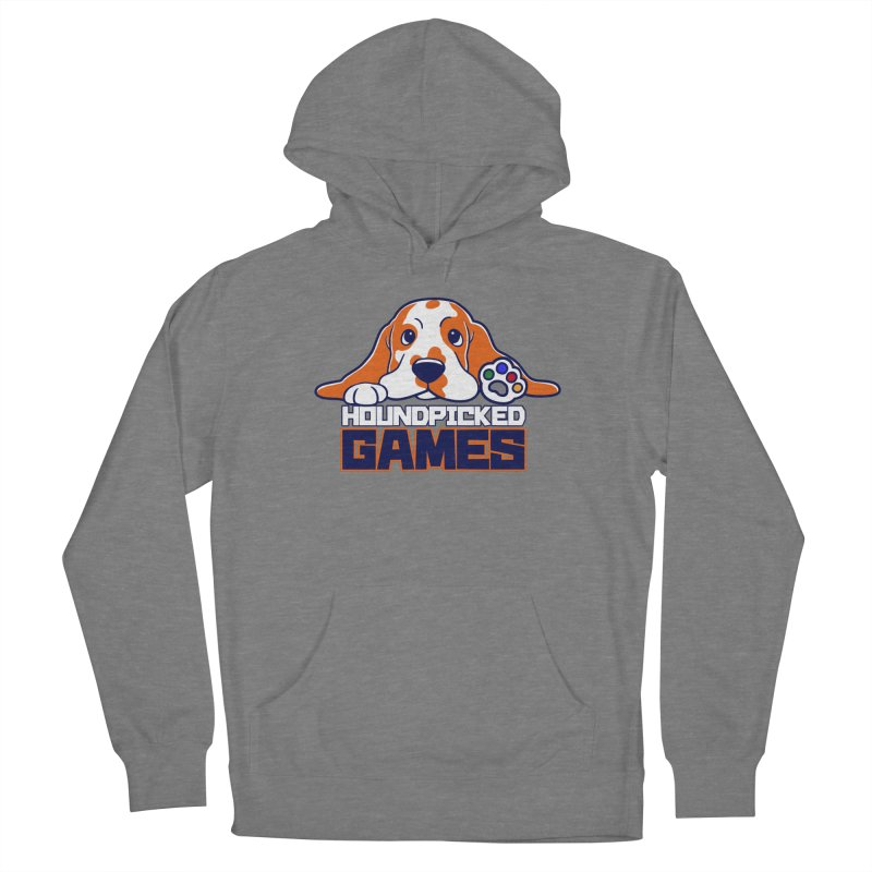 Hound Picked Games Logo (Blue Text) Women's Pullover Hoody by Hound Picked Games