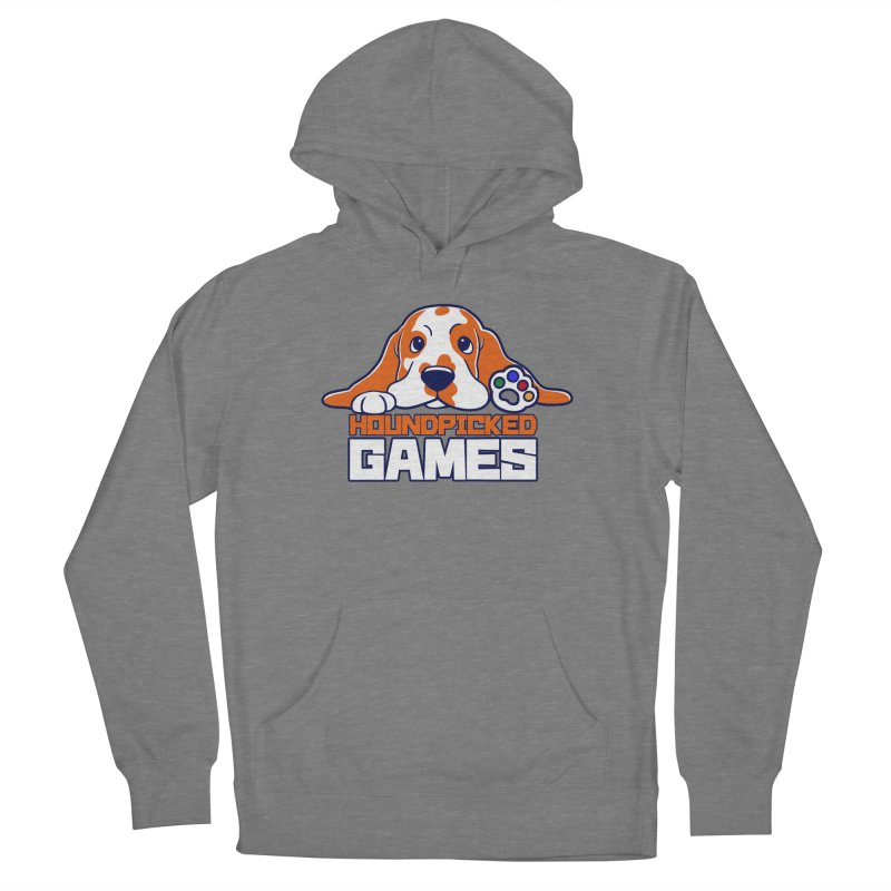 Hound Picked Games Logo (White Text) Women's Pullover Hoody by Hound Picked Games