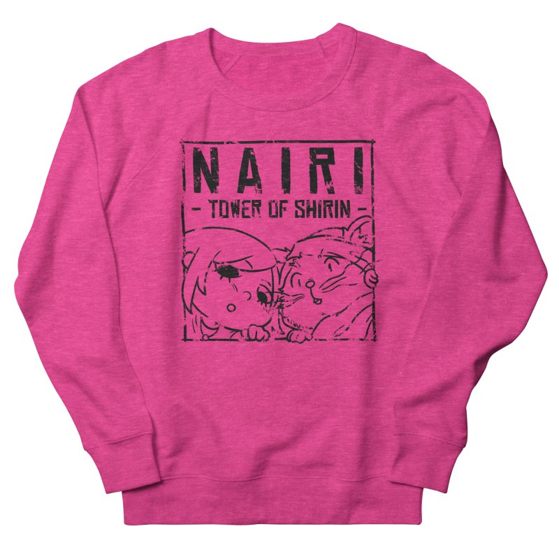 Curious Nairi & Rex! (Black) Women's Sweatshirt by Hound Picked Games
