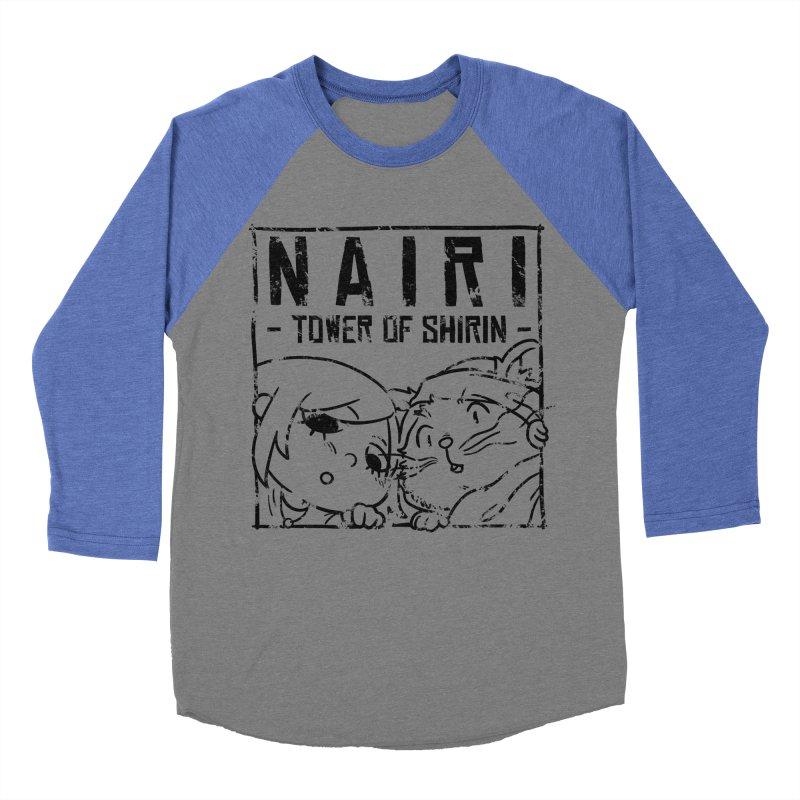Curious Nairi & Rex! (Black) Women's Baseball Triblend Longsleeve T-Shirt by Hound Picked Games