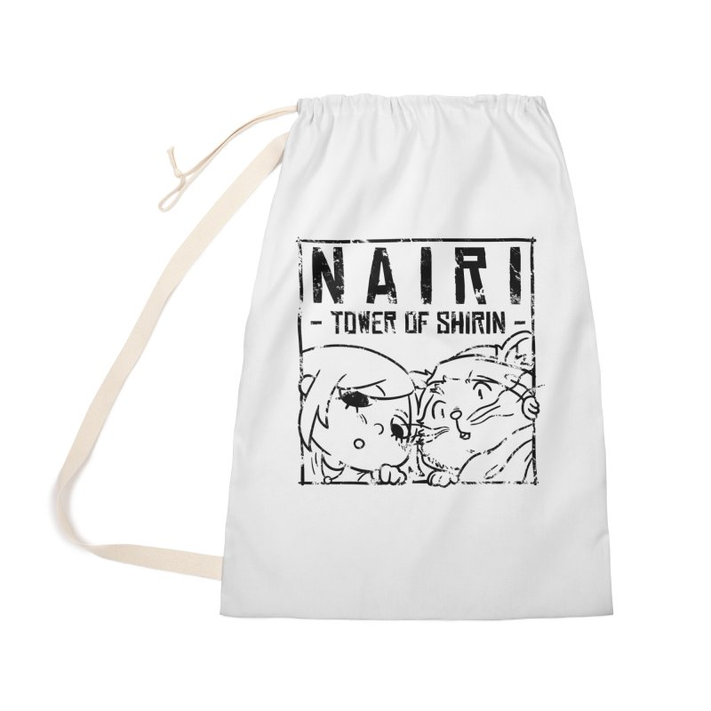 Curious Nairi & Rex! (Black) Accessories Bag by Hound Picked Games