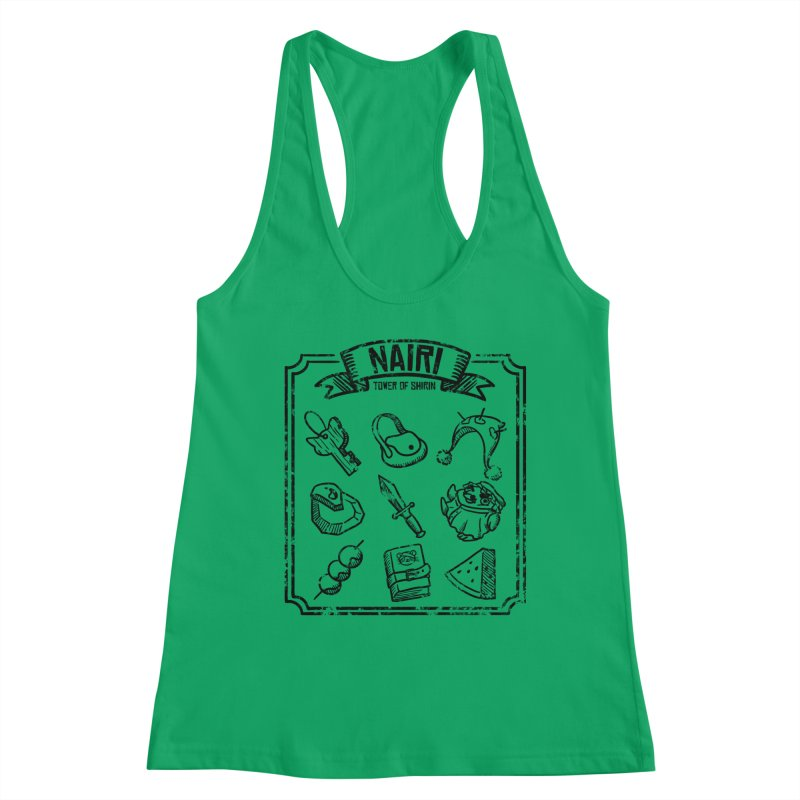 A Whole Bunch of Items! (Black) Women's Tank by Hound Picked Games