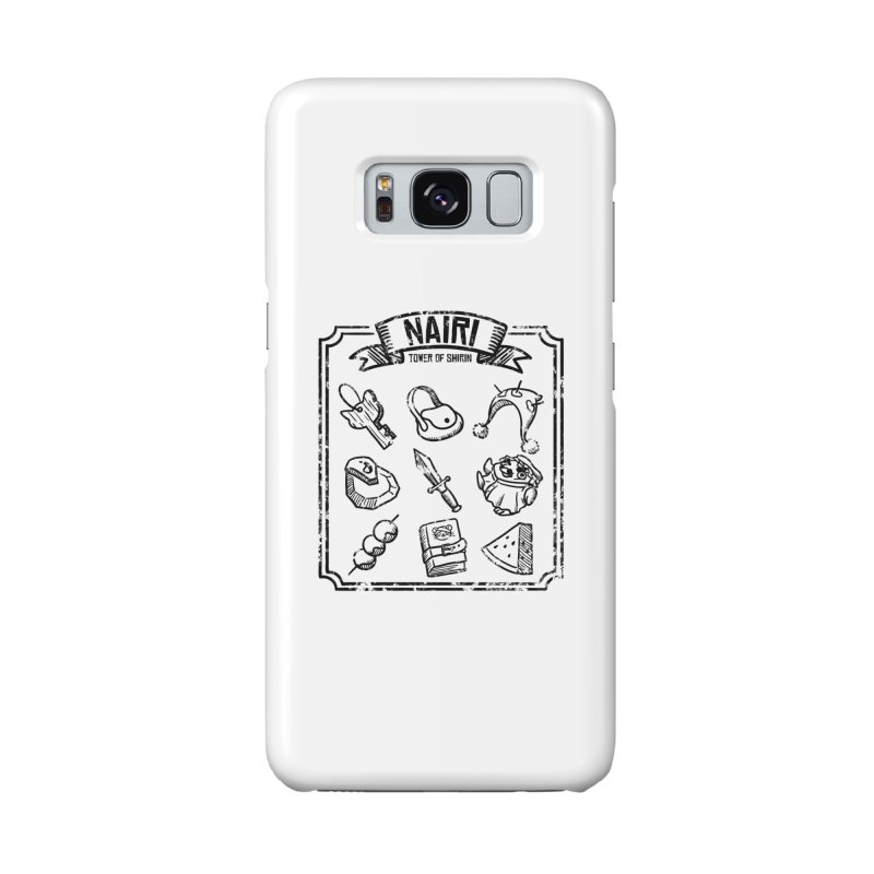 A Whole Bunch of Items! (Black) Accessories Phone Case by Hound Picked Games