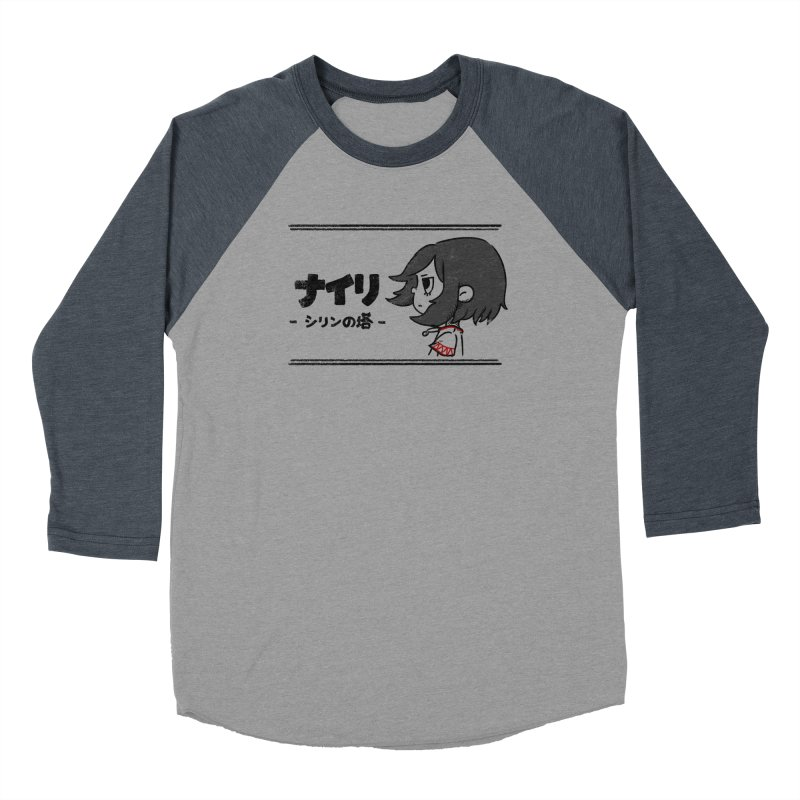 Lost in Thought... (Japanese - Black) Women's Longsleeve T-Shirt by Hound Picked Games