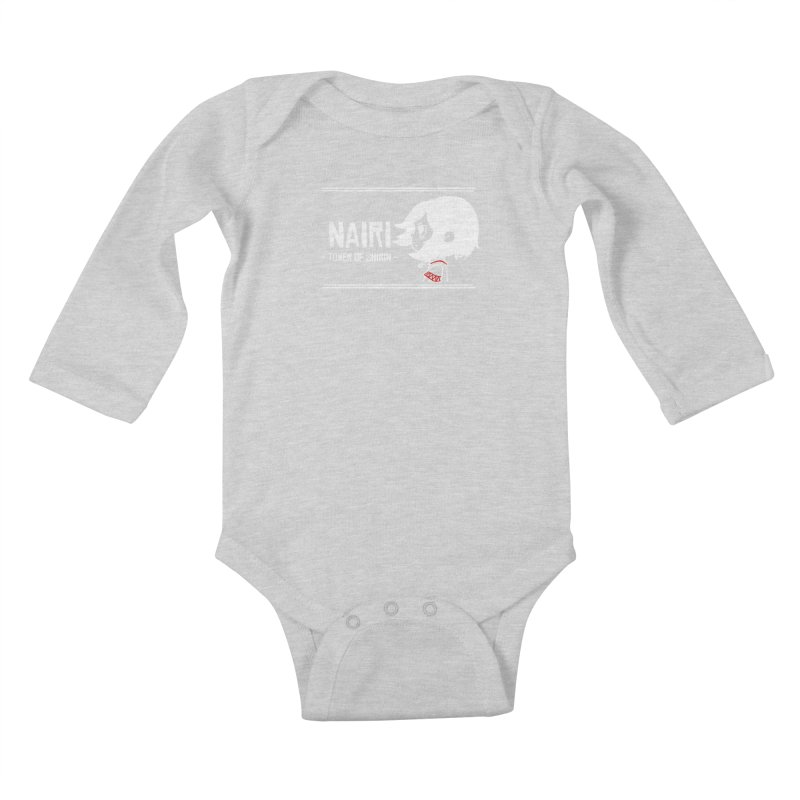 Lost in Though... (White) Kids Baby Longsleeve Bodysuit by Hound Picked Games