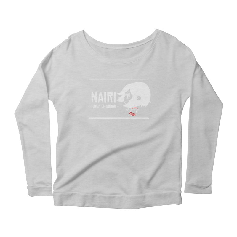 Lost in Though... (White) Women's Scoop Neck Longsleeve T-Shirt by Hound Picked Games