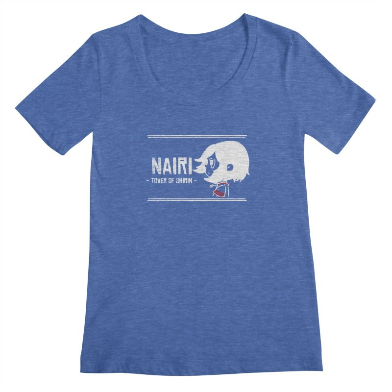 Lost in Though... (White) Women's Regular Scoop Neck by Hound Picked Games