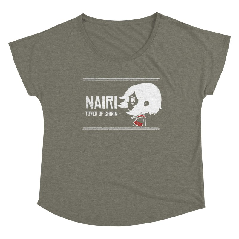Lost in Though... (White) Women's Dolman Scoop Neck by Hound Picked Games