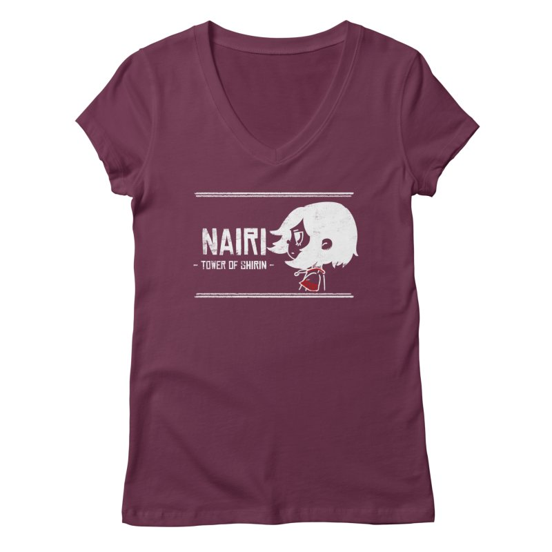 Lost in Though... (White) Women's Regular V-Neck by Hound Picked Games