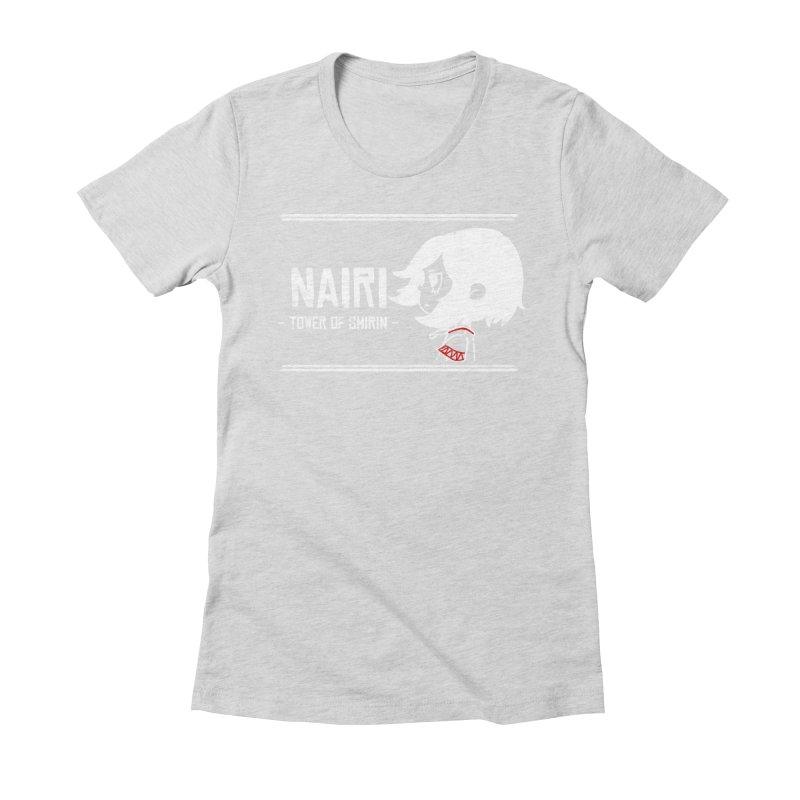 Lost in Though... (White) Women's Fitted T-Shirt by Hound Picked Games