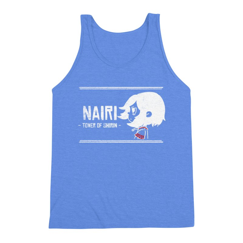 Lost in Though... (White) Men's Triblend Tank by Hound Picked Games