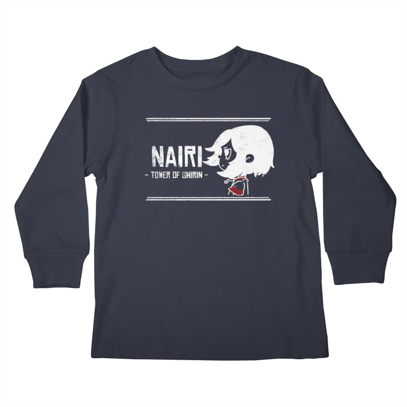 Lost in Though... (White) Kids Longsleeve T-Shirt by Hound Picked Games