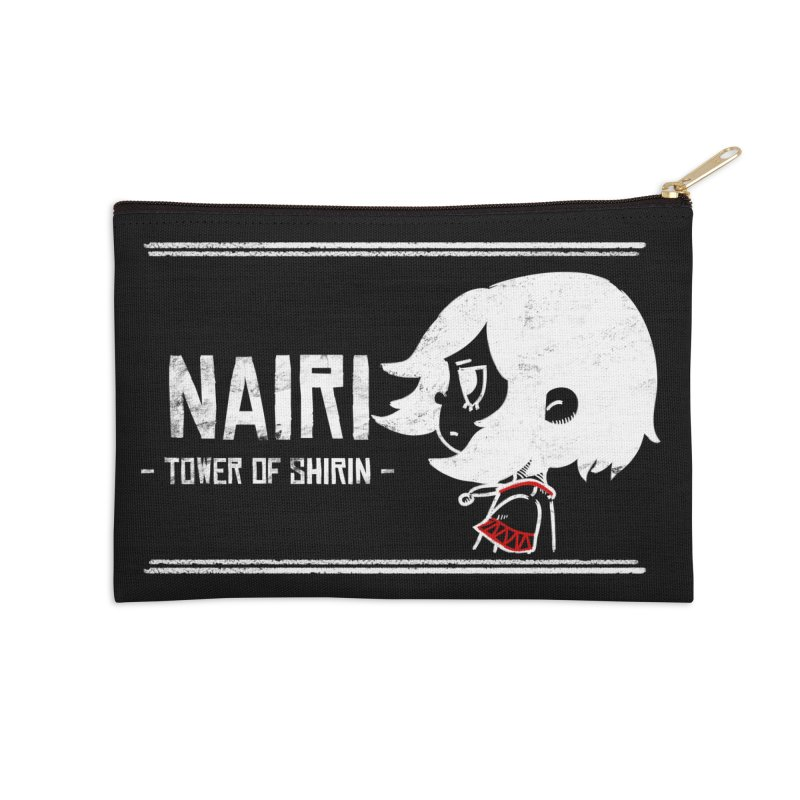 Lost in Though... (White) Accessories Zip Pouch by Hound Picked Games
