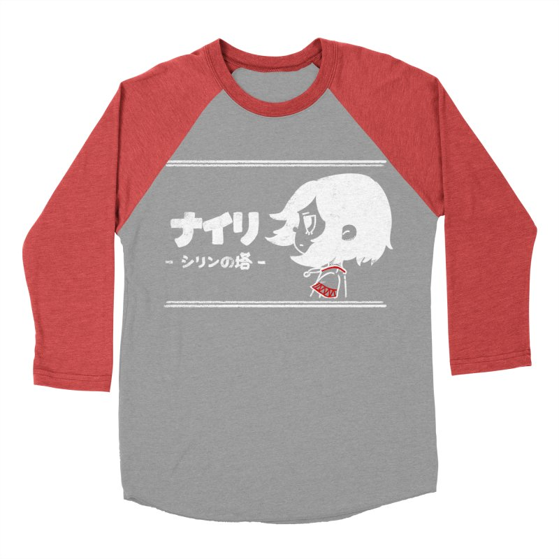 Lost in Thought... (Japanese - White) Women's Baseball Triblend Longsleeve T-Shirt by Hound Picked Games