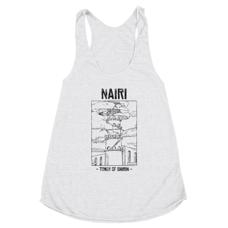 The Tower of Shirin (Black) Women's Tank by Hound Picked Games