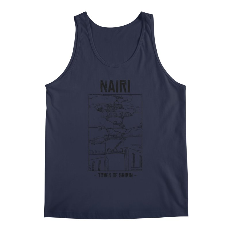 The Tower of Shirin (Black) Men's Regular Tank by Hound Picked Games