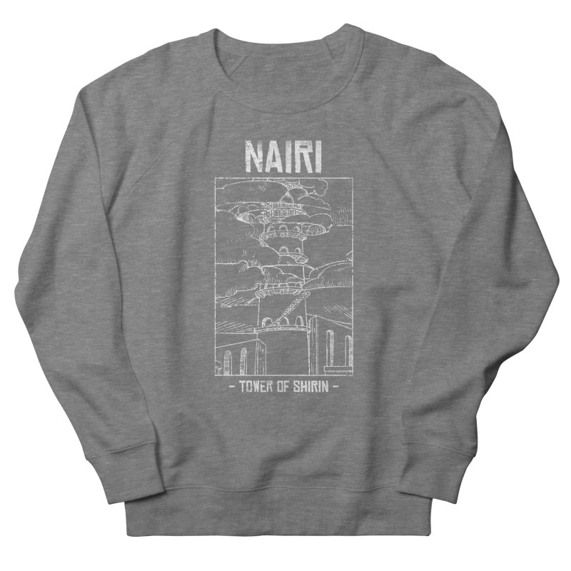 The Tower of Shirin (White) Women's French Terry Sweatshirt by Hound Picked Games