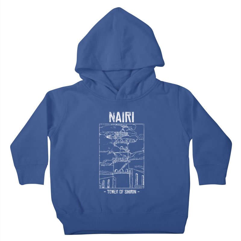 The Tower of Shirin (White) Kids Toddler Pullover Hoody by Hound Picked Games