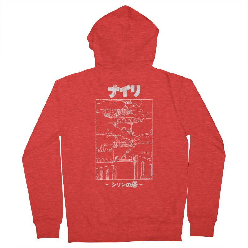 The Tower of Shirin (Japanese - White) Women's Zip-Up Hoody by Hound Picked Games