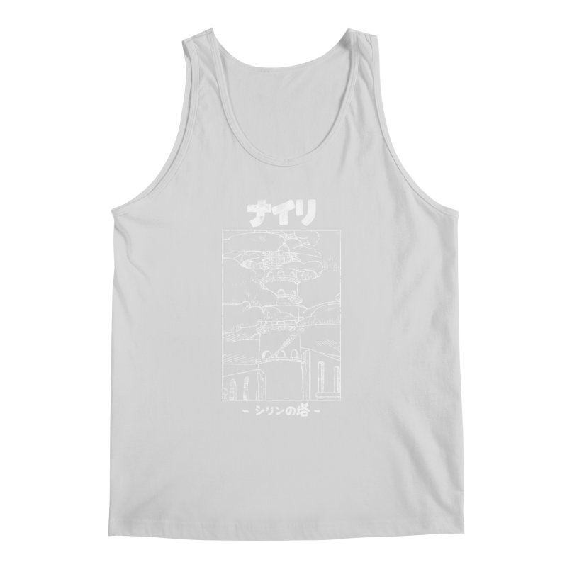 The Tower of Shirin (Japanese - White) Men's Regular Tank by Hound Picked Games