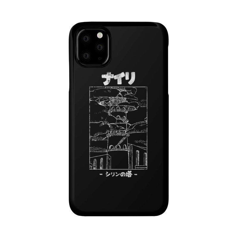 The Tower of Shirin (Japanese - White) Accessories Phone Case by Hound Picked Games