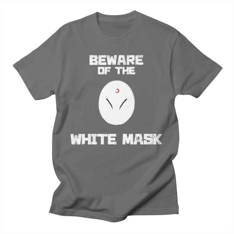The White Mask Men's T-Shirt by Hound Picked Games