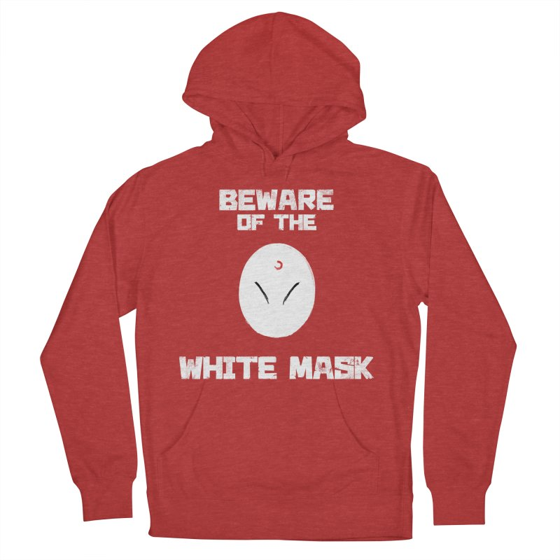 The White Mask Women's French Terry Pullover Hoody by Hound Picked Games