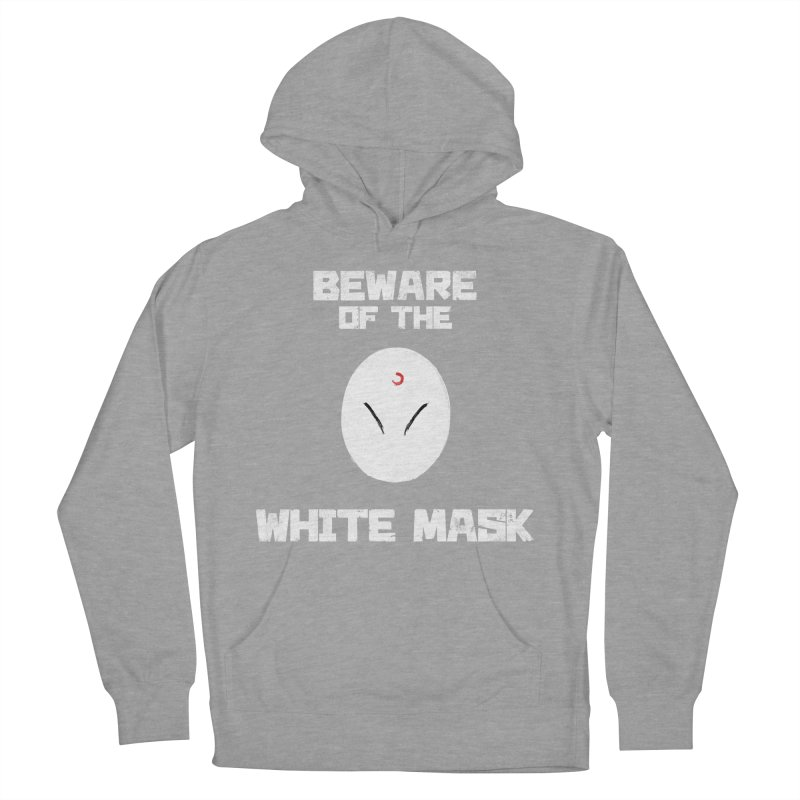 The White Mask Men's French Terry Pullover Hoody by Hound Picked Games