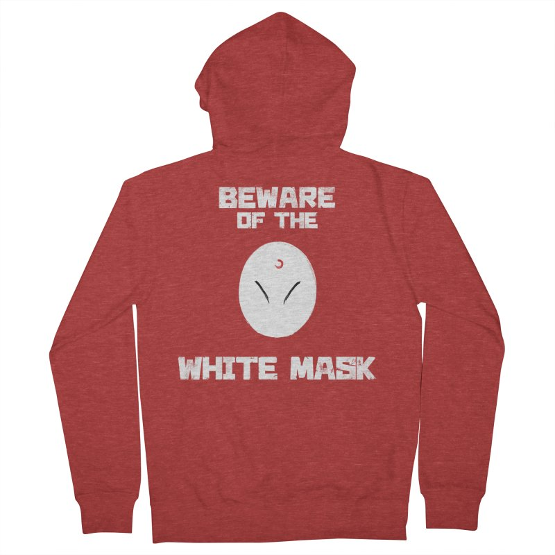 The White Mask Women's French Terry Zip-Up Hoody by Hound Picked Games