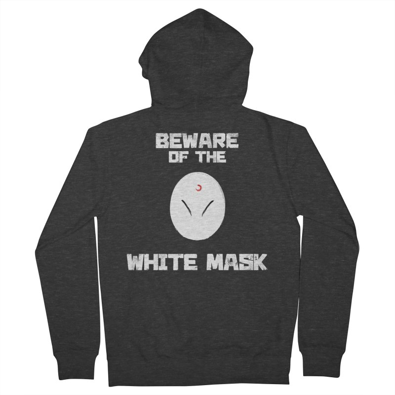 The White Mask Men's French Terry Zip-Up Hoody by Hound Picked Games