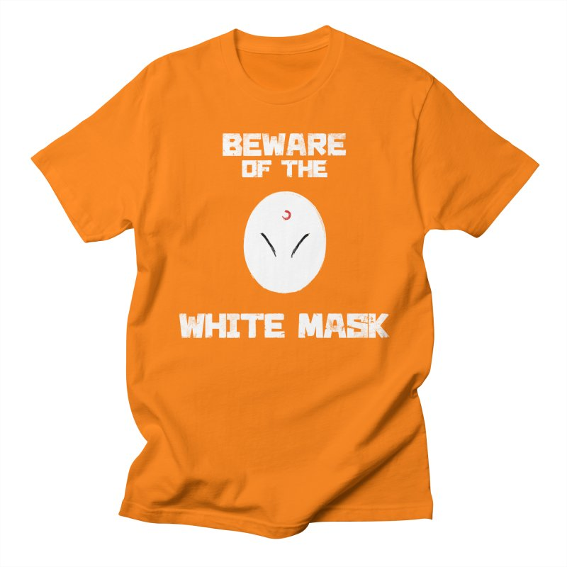The White Mask Women's Regular Unisex T-Shirt by Hound Picked Games