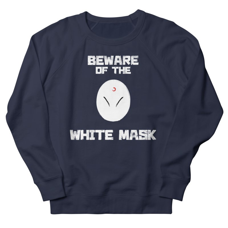 The White Mask Men's French Terry Sweatshirt by Hound Picked Games