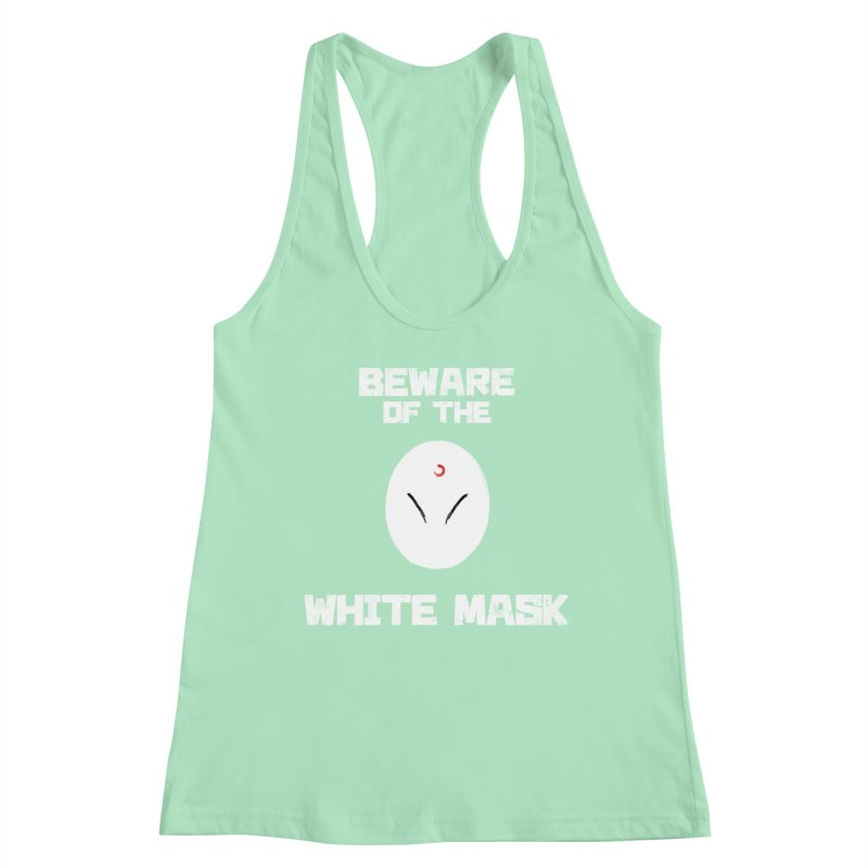 The White Mask Women's Tank by Hound Picked Games