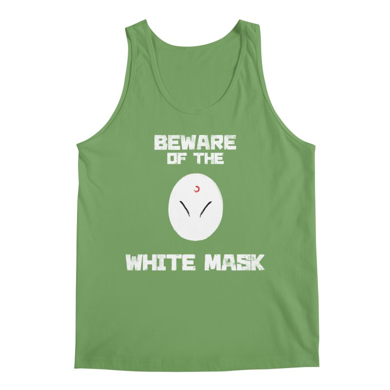 The White Mask Men's Tank by Hound Picked Games