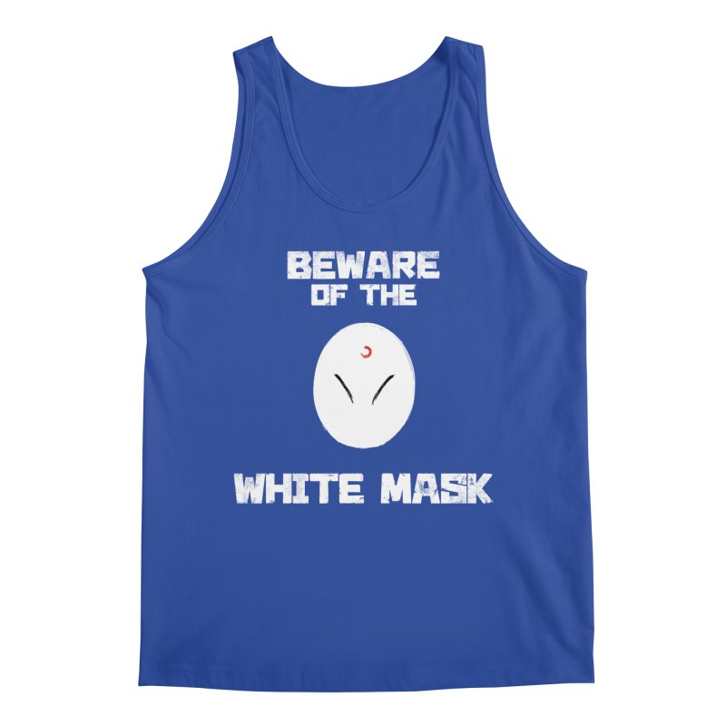The White Mask Men's Regular Tank by Hound Picked Games