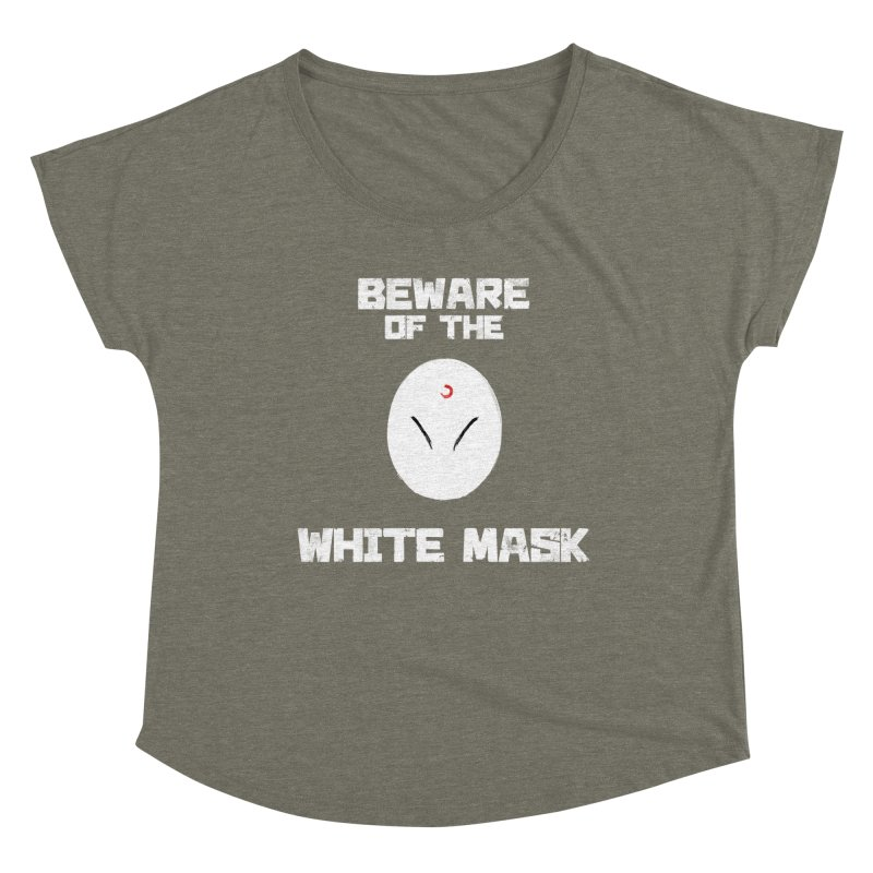 The White Mask Women's Dolman Scoop Neck by Hound Picked Games