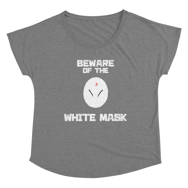 The White Mask Women's Scoop Neck by Hound Picked Games