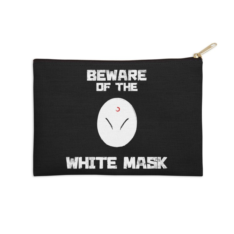 The White Mask Accessories Zip Pouch by Hound Picked Games