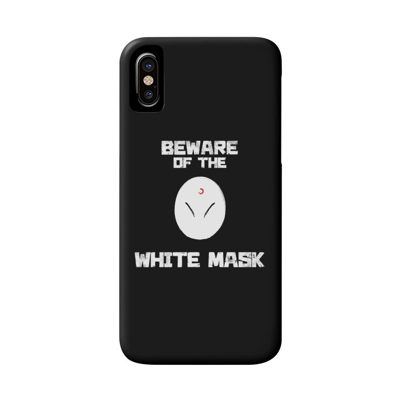 The White Mask Accessories Phone Case by Hound Picked Games