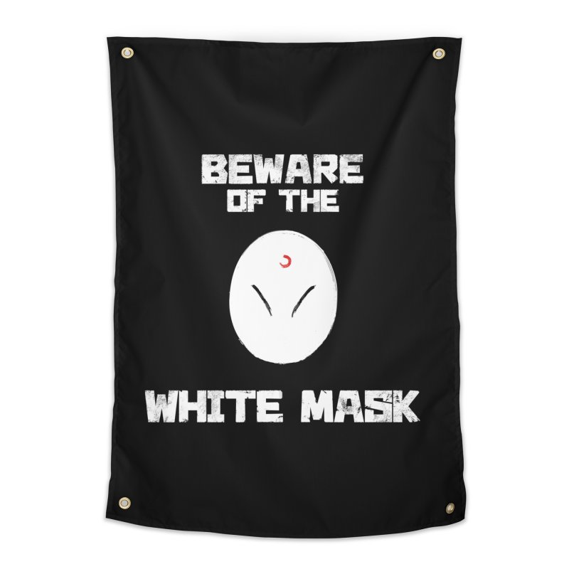 The White Mask Home Tapestry by Hound Picked Games