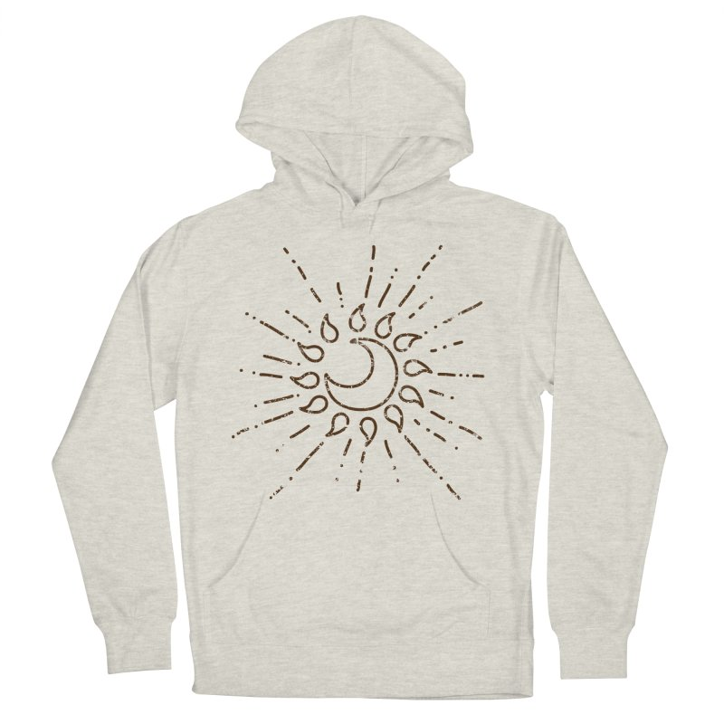 The Soluna Faith (Brown) Men's French Terry Pullover Hoody by Hound Picked Games
