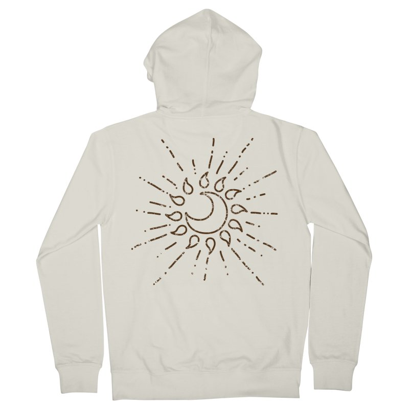 The Soluna Faith (Brown) Women's Zip-Up Hoody by Hound Picked Games